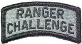 ranger challenge badge